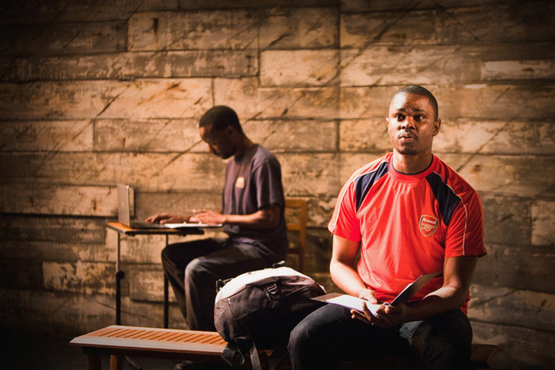 A production by ice&fire to illustrate the theatre's work during Refugee Week