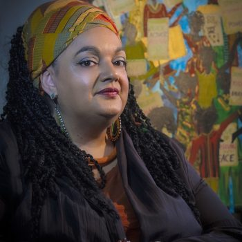 Zita Holbourne, co-founder & national chair of anti-racism campaign group Black Activists Rising Against Cuts (BARAC UK)