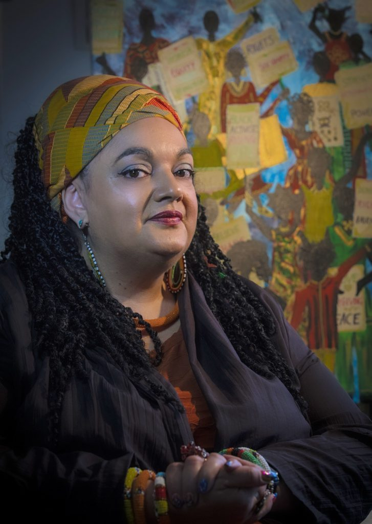 Zita Holbourne, who is campaigning for justice for the Windrush generation
