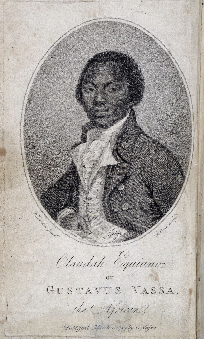 An image of Olaudah Equiano in an article about Black History Month