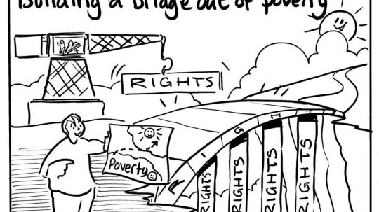 In Pictures: How We Can Build A Human Rights Bridge Out Of Poverty