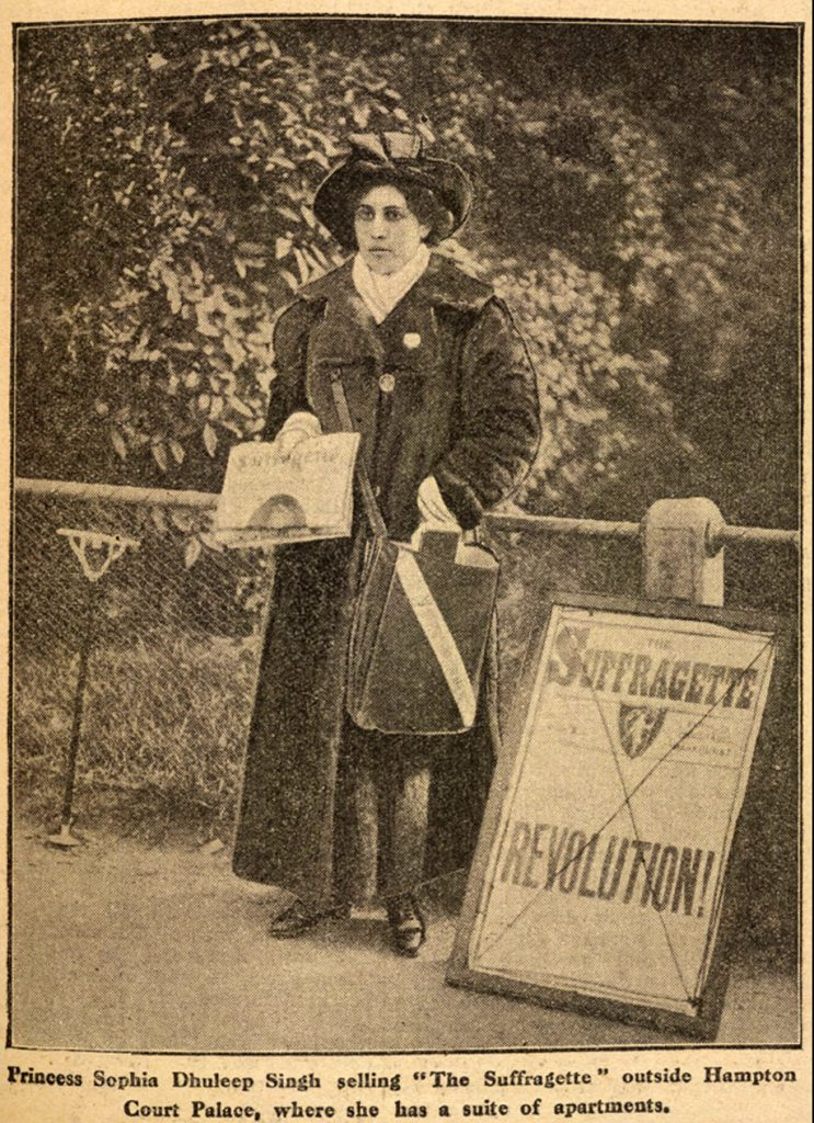 Sophia Duleep Singh in an article for International Women's Day