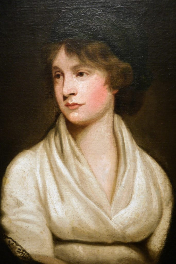 Mary Wollstonecraft in an article on International Women's Day
