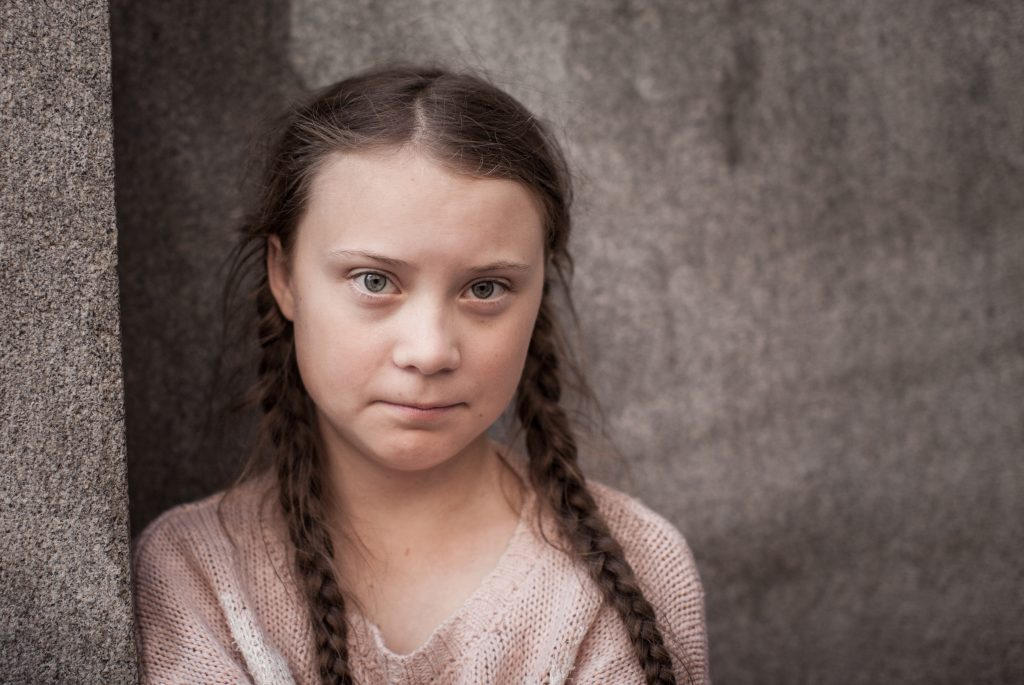 A photo of Greta Thunberg, who is among those to have objected to the proposed mine in Cumbria