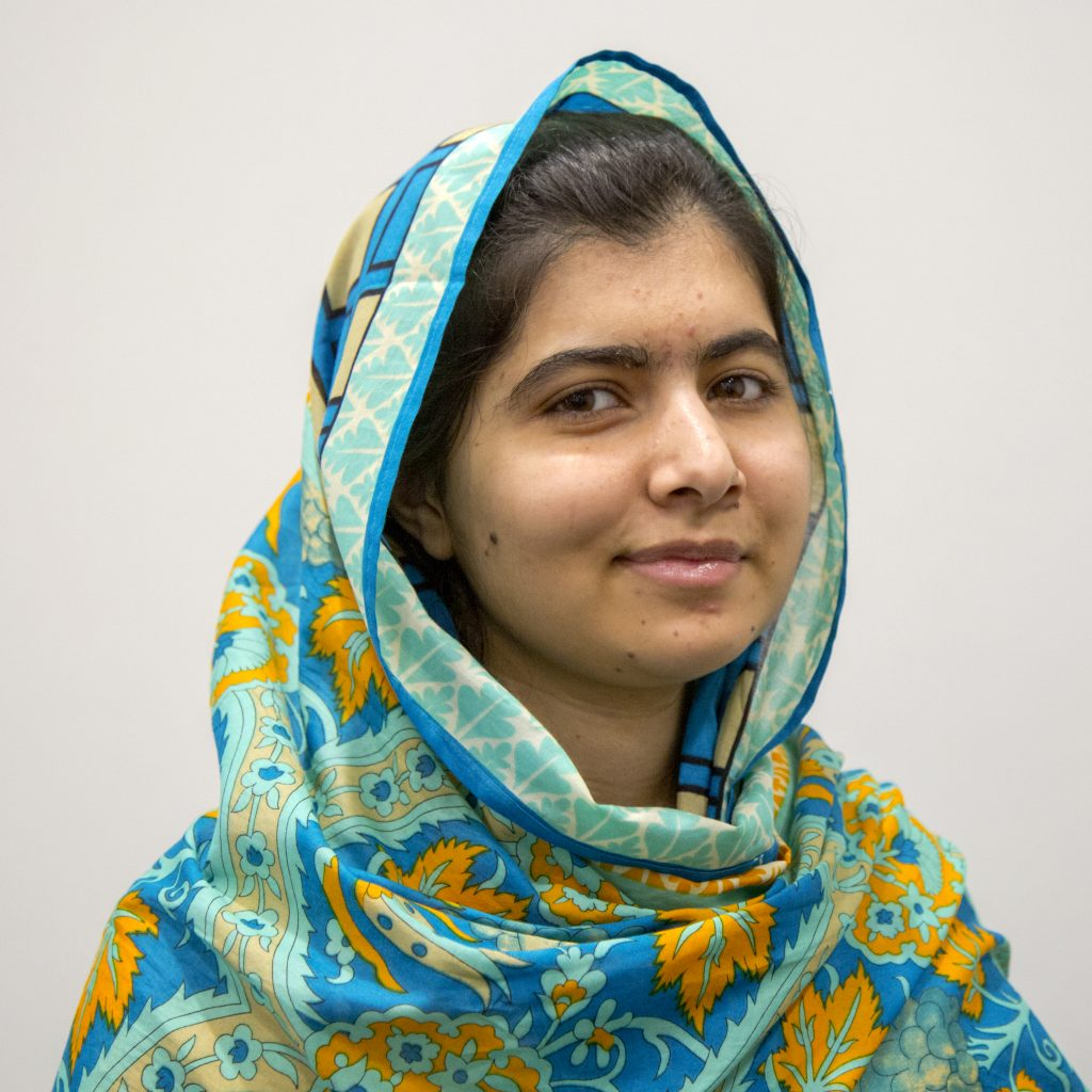 Malala Yousafzai in an article for International Women's Day