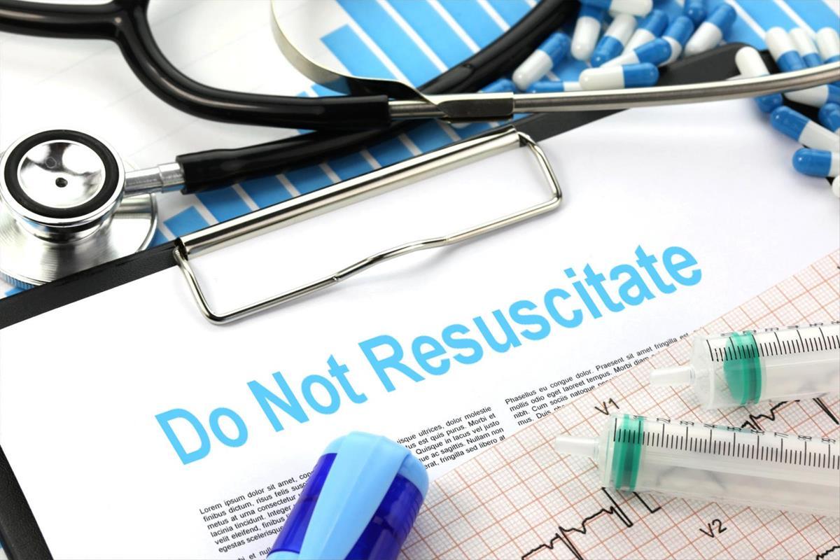 A do not resuscitate form